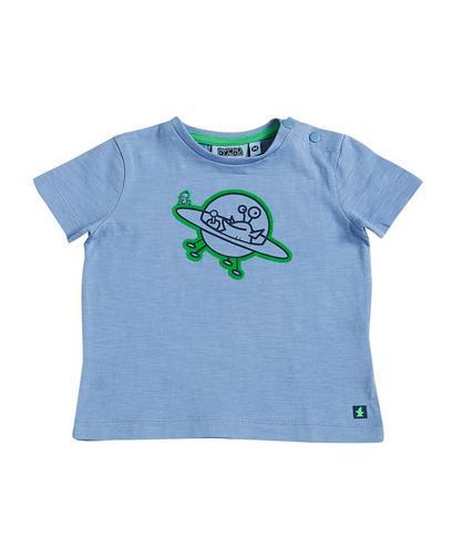 Hemelsblauw T-shirt